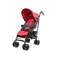 LASCAL M1 Buggy Stroller - Red/ Black